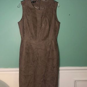 Kenneth Cole wrap leather dress
